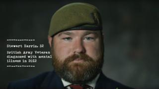 Screenshot from the RBL video showing young veteran Stewart Harries