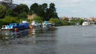 River Ouse near Acaster Malbis