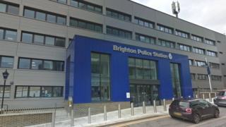 Brighton police station