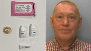 Frank Ludlow and fake kits