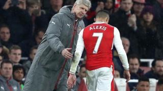 Arsene Wenger na Alexis Sanchez