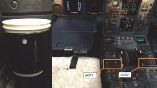 Kokpitteki ses kontrol panelinin detayları