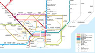 Picture of the proposed Cardiff transport scheme