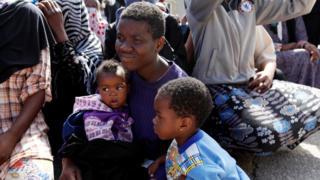 Libya'da göçmenler