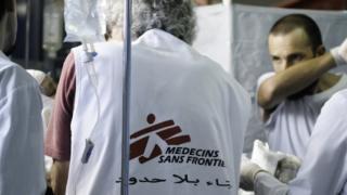 سازمان پزشکان بدون مرز میگوید بیمارستانها تبدیل به بخشی از جبهه جنگ شدهاند