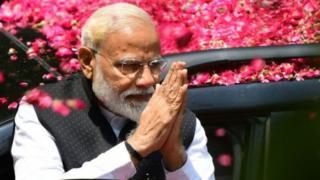 نارندا مودی نخست وزیر هند