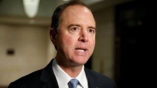 Democrat Adam Schiff, ranking member of the House Intelligence committee.