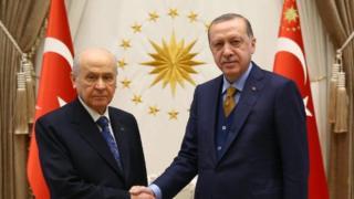 Bahçeli ve Erdoğan