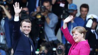 Macron ve Merkel