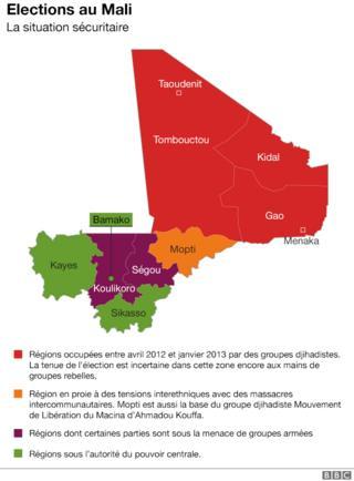 La situation sécuritaire au Mali