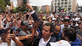 "Venezuela""s National Assembly head Juan Guaido"