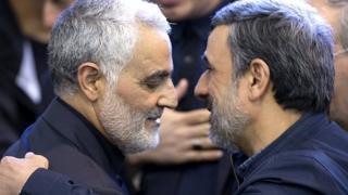 احمدی نژاد و قاسم سلیمانی
