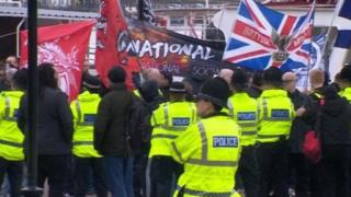 National Action demonstration