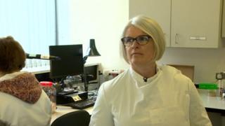 Dr Eleri Davies from Public Health Wales