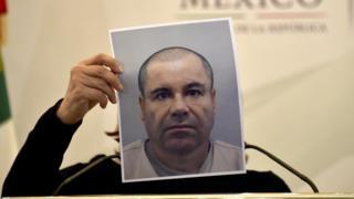 """Fotografía de Joaquín """"El Chapo"""" Guzmán"""
