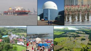 Felixstowe, Sizewell, Woodbridge, Beccles, Lowestoft and Henham Park