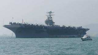 أرسلت الولايات المتحدة حاملة طائرات إلى الشرق الأوسط