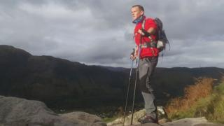Andy Cole on Ben Nevis