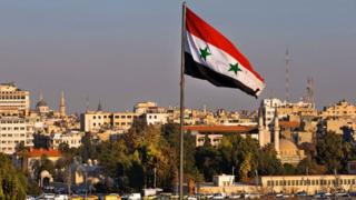 シリアの首都ダマスカス