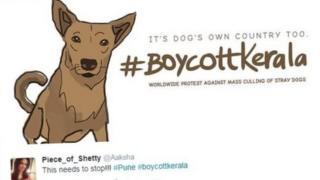 #BoycottKerala poster