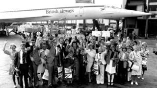 Concorde passengers