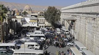 вибух у Палаці юстиції в Дамаску