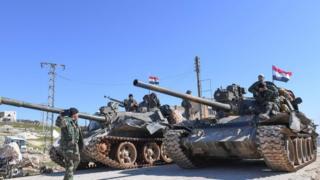 وحدات من الجيش السوري تواصل التقدم في إدلب