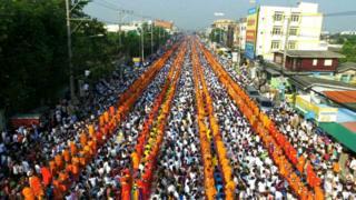 फ़ेक तस्वीर - मोदी की रैली