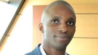 Aubin N'goua est le fondateur de la start-up Solar Box Gabon