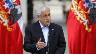 Shugaban kasar Chile Sebastian Piñera