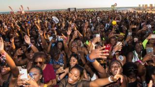 Afronation Festival crowd shot