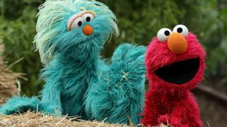 Sesame Street Elmo and Rosita