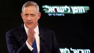Benny Gantz, file photo January 2019