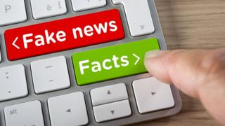 Fake news is spread through public and private forums