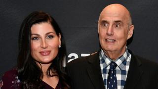 Jeffrey Tambor with Trace Lysette
