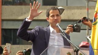 La juramentación de Guaidó creó una situación sin precedentes en Venezuela.