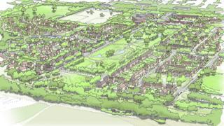 Plans for Rudgate Village