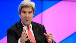 John Kerry, 17 Jan 17 in Davos