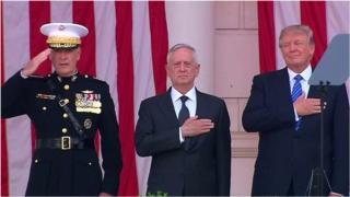 အမေရိကန် ကာကွယ်ရေးဝန်ကြီး ရာထူးက ထွက်