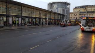 Bath Bus station