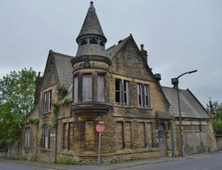 The former police station