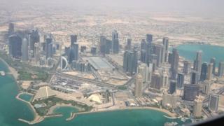 Umujyi wa Doha muri Qatar