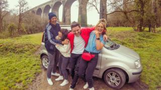 William Webb, Jessica Berg, Craig Holmes and Aimee Bannister