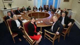 Executive meets for the first time