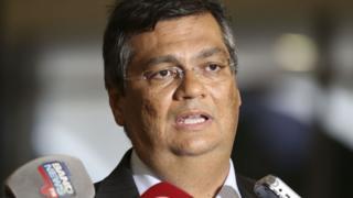 Flávio Dino dá entrevista