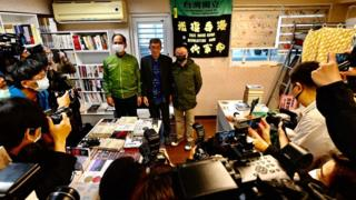 HK bookseller who defied China opens Taiwan shop