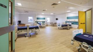 Inside the new ward