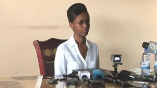 Diane Rwigara abaye umunyarwandakazi wa mbere utangaje ko aziyamamaza mu matora y'umukuru w'igihugu muri 2017