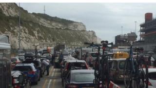 Dover ferry delays