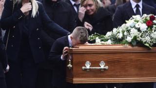 Jim Donegan funeral